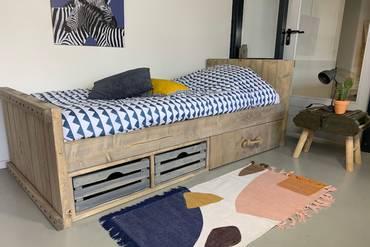 Stoere Jongens Bed.Kinderbed Joris Old Style